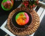 Kue Cucur Pelangi langkah memasak 10 foto