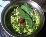 Tumis Pare Bunga Pepaya Rebon langkah memasak 1 foto