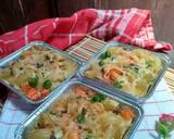 Macaroni schotel with veggies langkah memasak 7 foto
