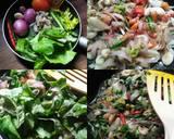 Pizza Mini Bayam langkah memasak 1 foto