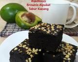 257. Brownies Alpukat Tabur Kacang langkah memasak 10 foto