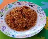 Nasi Goreng Sosis Cabe Hijau langkah memasak 4 foto