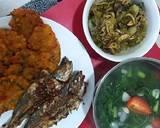 Sambal lado ijo teri+jengkol langkah memasak 9 foto