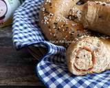 Roti Gandum Smoked Beef Keju (Dough dengan Olive Oil) langkah memasak 16 foto