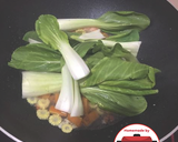 Tumis pokchoy kuah udang wortel No MSG #homemadebylita langkah memasak 4 foto