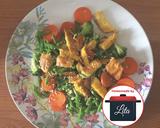 (Diet) Tumis buncis wortel brokoli telor gampang#homemadebylita langkah memasak 4 foto