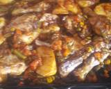 Grilled chicken with veges