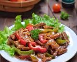 Daging masak kecap paprika langkah memasak 3 foto