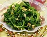 Day.19 Sigumchi Namul (Salad Bayam) #BikinRamadanBerkesan langkah memasak 5 foto