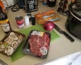 Beef stroganoff, crockpot recipe step 2 photo