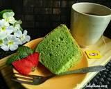 Pandan Chiffon Cake #pr_anekachiffon langkah memasak 10 foto