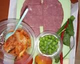 Smoked beef kimchi fettuccine langkah memasak 1 foto