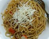 Garlic Butter Spaghetti langkah memasak 7 foto