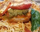 Basil Pesto & Mozarella Chicken Thighs recipe step 11 photo