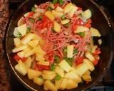 Omelet Spanyol langkah memasak 3 foto
