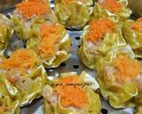 Chinese Shumai / Siomay Dimsum ayam udang ala Ny.Liem langkah memasak 3 foto