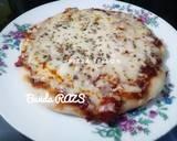 Pizza Teflon langkah memasak 7 foto