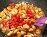Tumis udang kentang masak kecap langkah memasak 5 foto