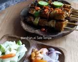 Sate Tempe #rabubaru langkah memasak 13 foto