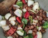 Sapi lada hitam (beef blackpepper) ala resto langkah memasak 4 foto