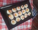 Kimbab langkah memasak 6 foto