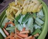 Acar (Nanas Wortel Timun) langkah memasak 3 foto