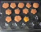 Gur dhana chocolate bitesWhen its engagement or wedding jaggery and coriander seeds are offered recipe step 3 photo