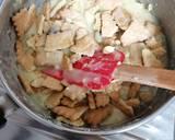 Μωσαϊκό λευκής σοκολάτας με φυστίκι Αιγίνης και cranberries φωτογραφία βήματος 4