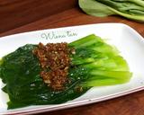 Pokcoy siram Bawang Putih langkah memasak 3 foto