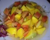 Manisan Mangga dan Pepaya Muda langkah memasak 2 foto