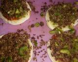 Minced meat and cheese bread burger recipe step 3 photo