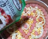10.65 Pizza Ubi Ungu langkah memasak 5 foto