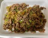 Cheese Teriyaki Beef Pie recipe step 2 photo