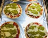 Mini Shredded Salsa Chicken Tortilla Pizzas recipe step 8 photo