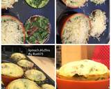 Spinach Muffins Bekal Anak langkah memasak 1 foto
