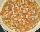 Semur tahu, kentang, wortel langkah memasak 2 foto