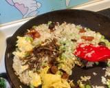 烏魚子肝腸蒜苗蛋炒飯食譜步驟5照片