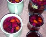 Es Buah Naga n Kedondong n Pepaya jg Selasih... Simpel tnp Syrup langkah memasak 2 foto