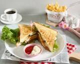 Breakfast Sandwich langkah memasak 4 foto