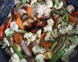 Capcay ala Chinese Resto langkah memasak 4 foto