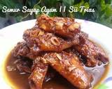 Semur Sayap Ayam #PR_AnekaSemur langkah memasak 5 foto