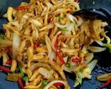 Tumis Jamur Bawang Bombay langkah memasak 3 foto