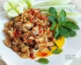 Ayam Suwir Kemangi Sambal Korek langkah memasak 5 foto