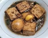 Semur Telur Tahu langkah memasak 4 foto
