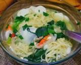 Mie Rebus Siram Sayur langkah memasak 5 foto