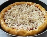 Pizza Teflon Labu Kuning langkah memasak 7 foto