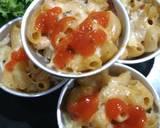 Schotel Macaroni bolognese kukus langkah memasak 7 foto