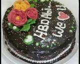 #14 RAINBOW Checkerboard Cake #seninsemangat langkah memasak 8 foto