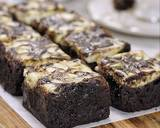 Marble Brownies (#pr_browniesdcc) langkah memasak 10 foto