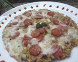 Noodle Pizza langkah memasak 7 foto